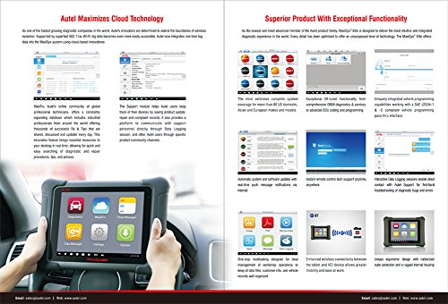 Difference between Autel Maxisys MS908 Automotive Diagnostic Scan Tool and OTC Bosch Encore